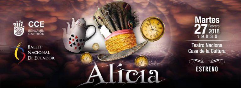 El ballet de Alicia en el País de las Maravillas