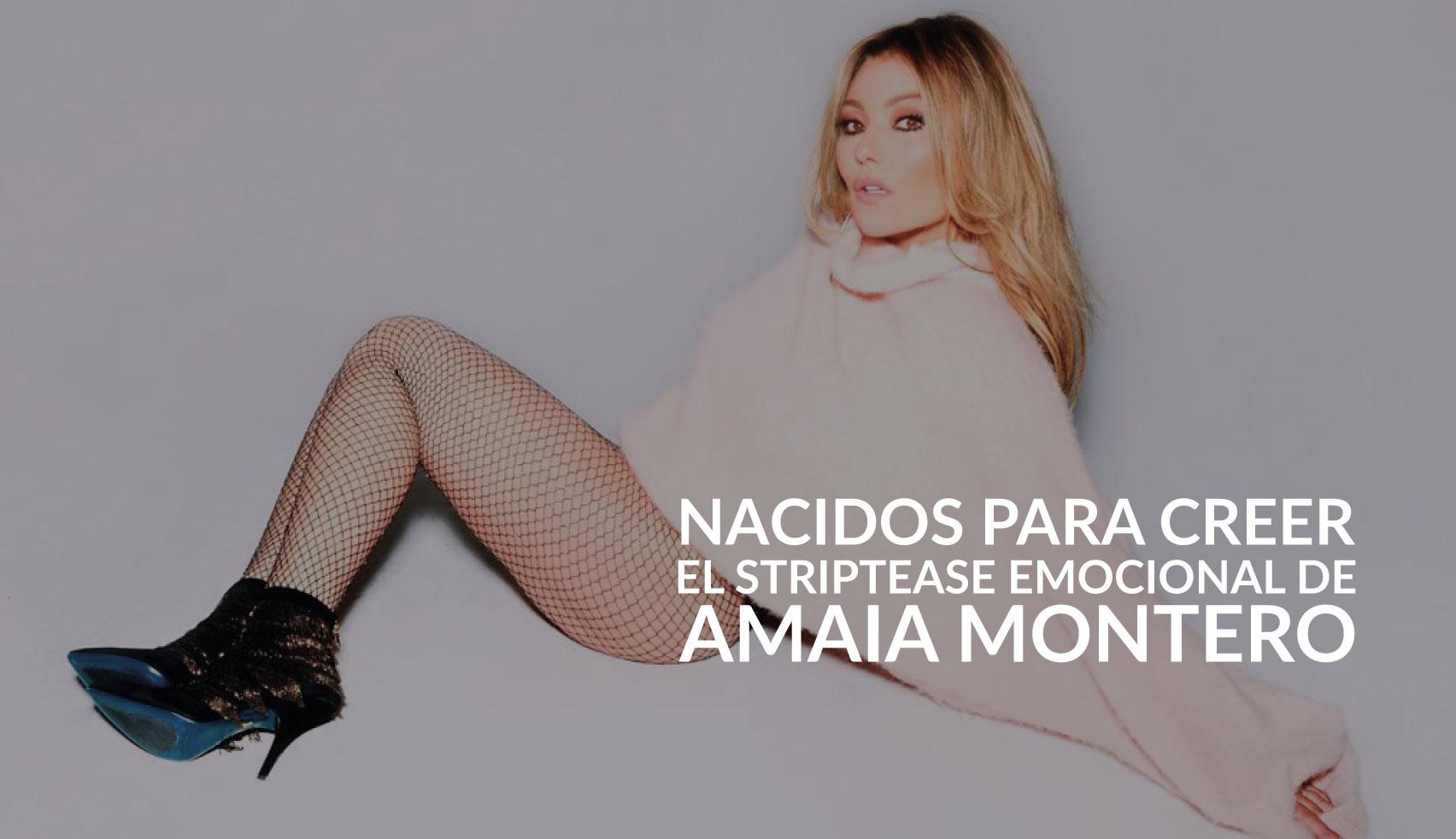 Amaia Montero Nacidos para creer Web