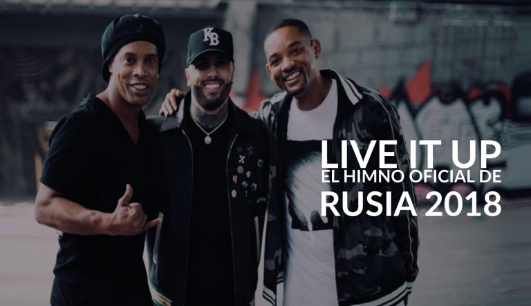 himno oficial del Mundial Rusia 2018