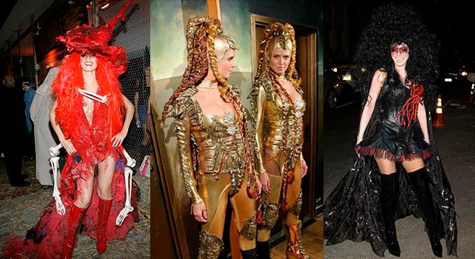 Heidi Klum en Halloween 18 disfraces de Halloween