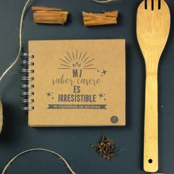 cuaderno de recetas Andariega Store