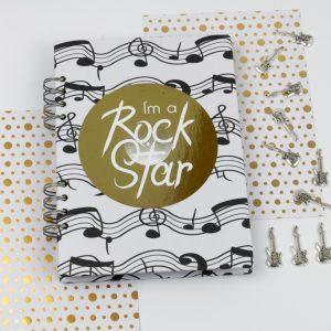 Cuaderno Rock Star Andariega Store