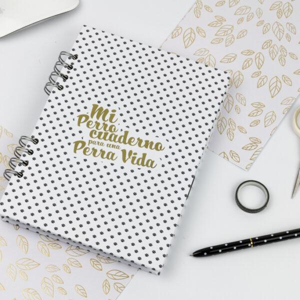 Perro cuaderno Andariega Store