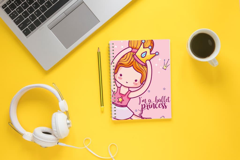 Cuaderno Ballet Princesa Andariega Store