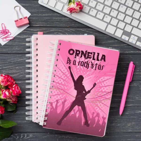 Libreta Rock Star Girl Andariega Store