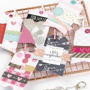 Etiquetas para regalos Andariega