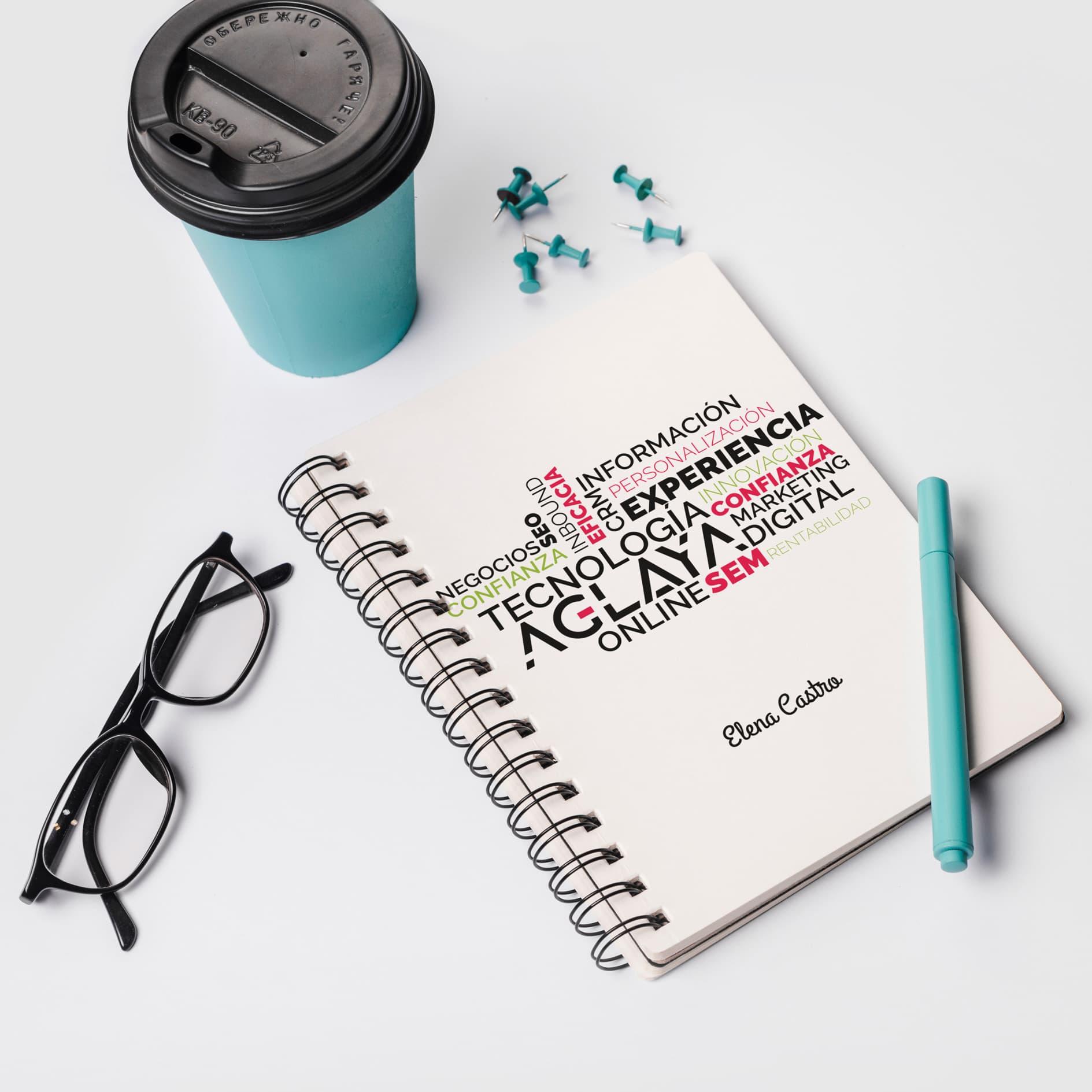 Cuadernos personalizados corporativos