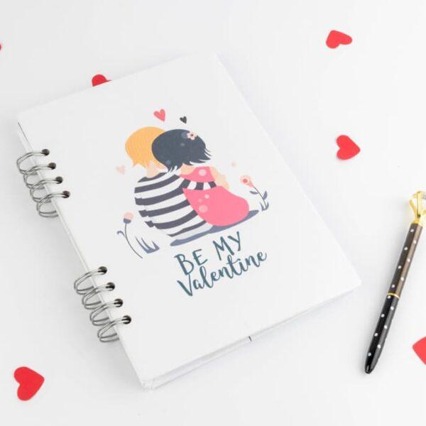 Agendas y cuadernos «Be My Valentine» · Andariega Store 2021