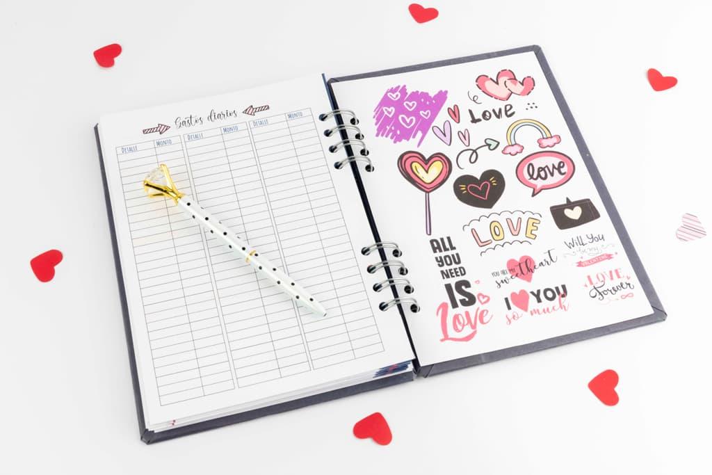 Agendas y cuadernos «You and Me» · Andariega Store 2021